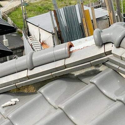 屋根全般の割れ